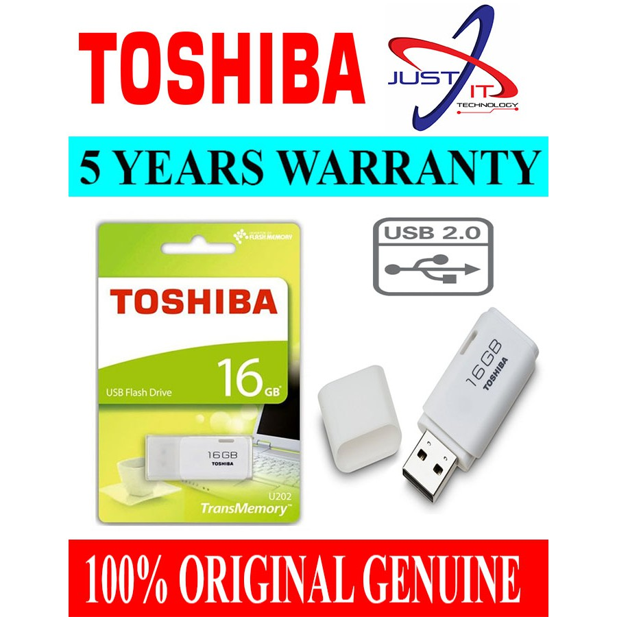 Toshiba Hayabusa 16gb Usb 20 Flash Drive Pendrive White Shopee Disk 32 Gb Original Malaysia