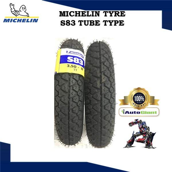MICHELIN TAYAR S83 (100% ORIGINAL) 3.50-10, 3.50-8