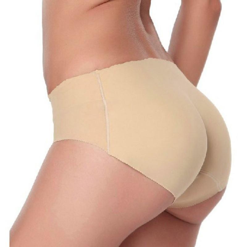 013eba2619 Sexy Silicone Padded Panties Hip Bum Enhancer Underwear Briefs Knicker  Shapewear