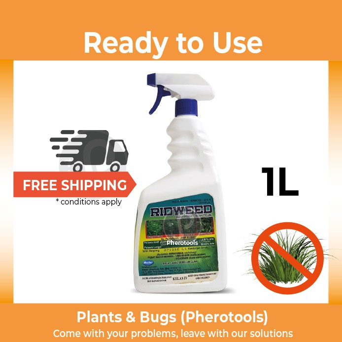 ????RID-WEED 1 Litre???? Weed Killer (Ready to use) for Home and Garden