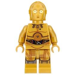 LEGO Star Wars : C-3PO (Printed Legs) Minifigure