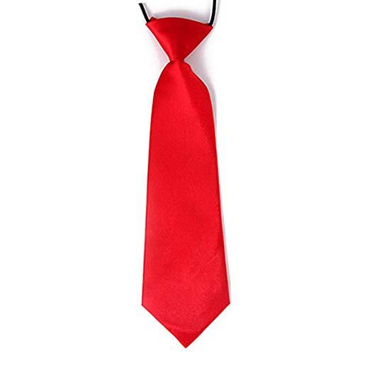 Boy's Pretied Tie Solid Color Formal Fashion Necktie