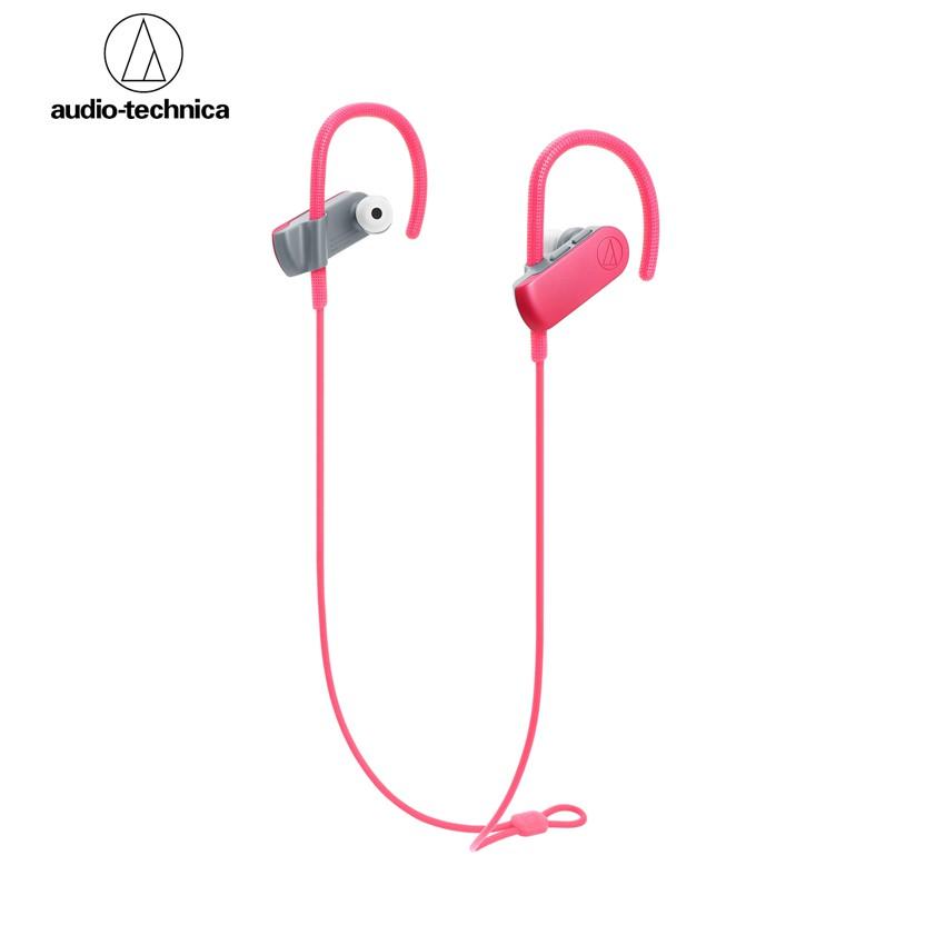 Audio-Technica ATH-SPORT50BT SonicSport® Wireless In-Ear Headphones - Pink