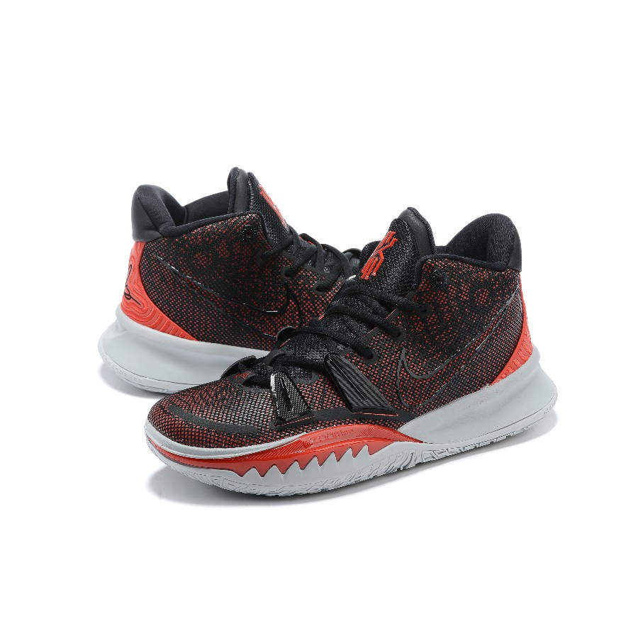 2020New Nike Kyrie Irving 7 Black Grey Red Sports Fashion Kyrie7 Basketball  shoes