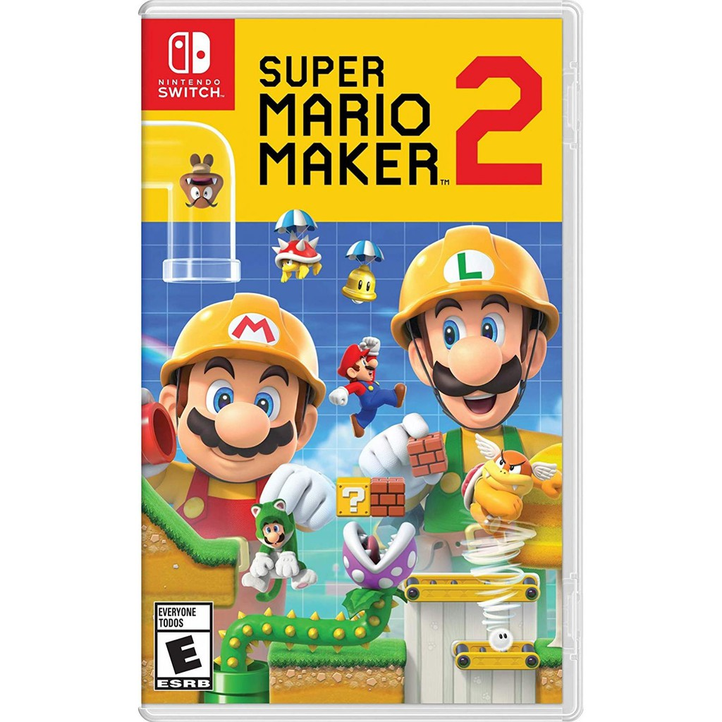 Nintendo Switch Super Mario Maker 2 (US/Eng/Chi)