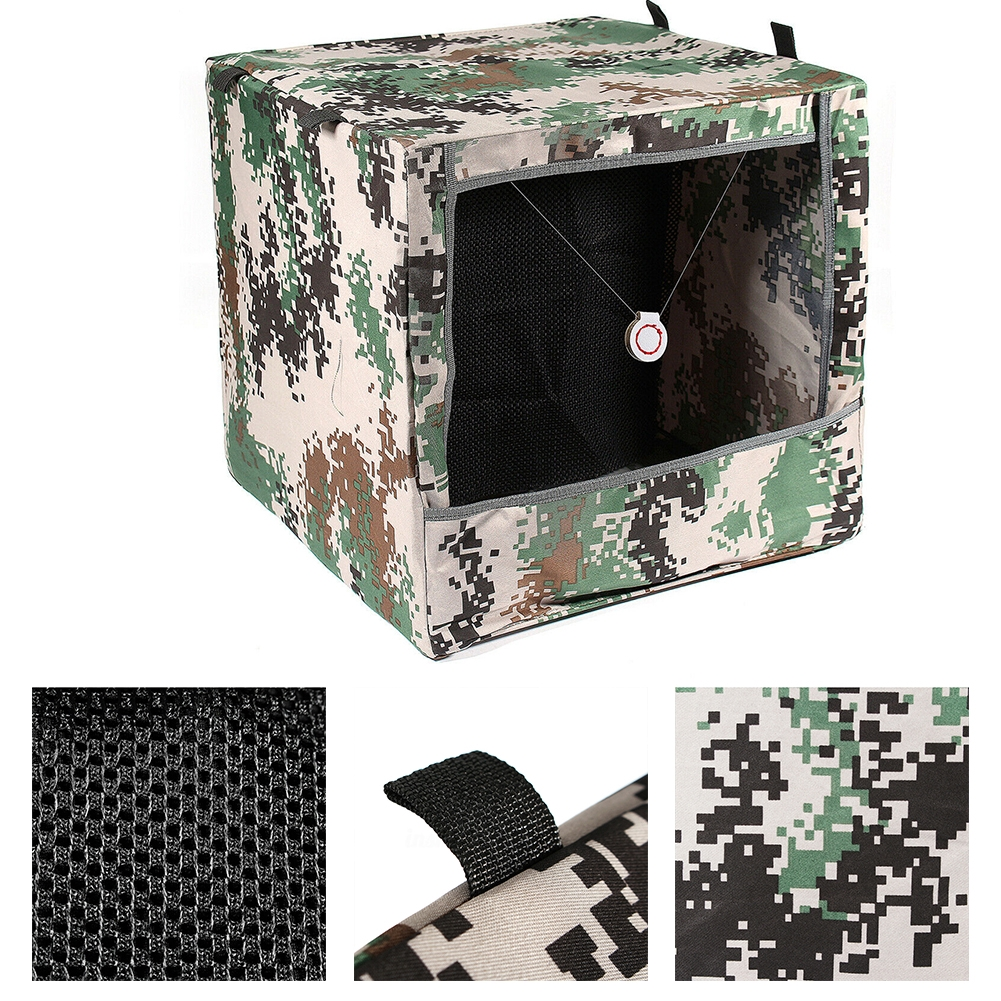 Foldable Camo Slingshot Target Box Recycle Portable Hunting Shooting Equipment