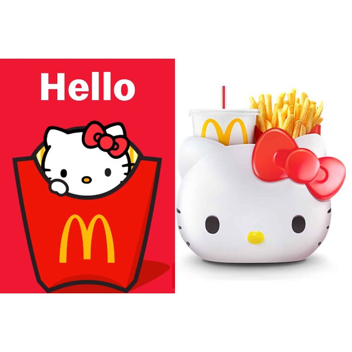 hello kitty mcd limited item