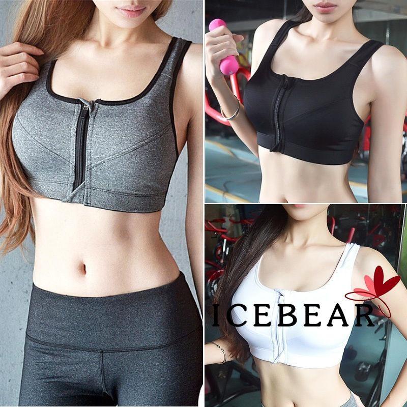 Women Seamless Yoga Sport Running Bra Crop Tank Top Soft Vest Stretch Shapewear