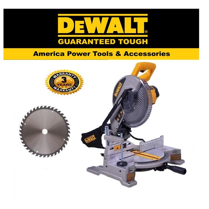 DEWALT DW714-XD MITRE SAW 250MM HIGH PERFORMANCE MITRE SAW EASY USE SAFETY GOOD  QUALITY