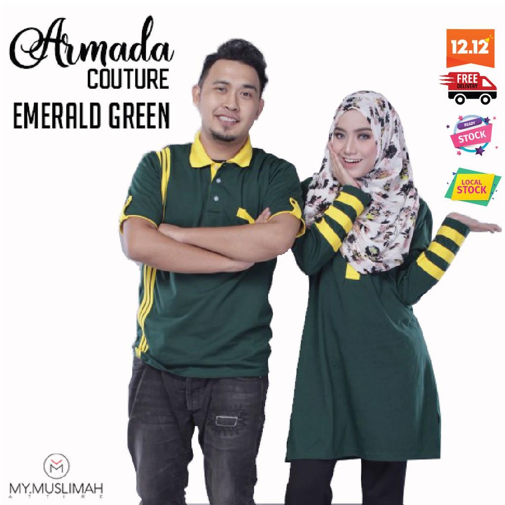 3278ac0dbbe Tshirt Couple Muslimah Cotton - Design SARRA | Shopee Malaysia
