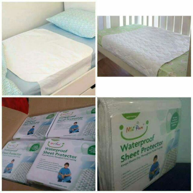 100% Waterproof 3 Layers Bed Sheet Protector Old People/Pregnant | Shopee  Malaysia