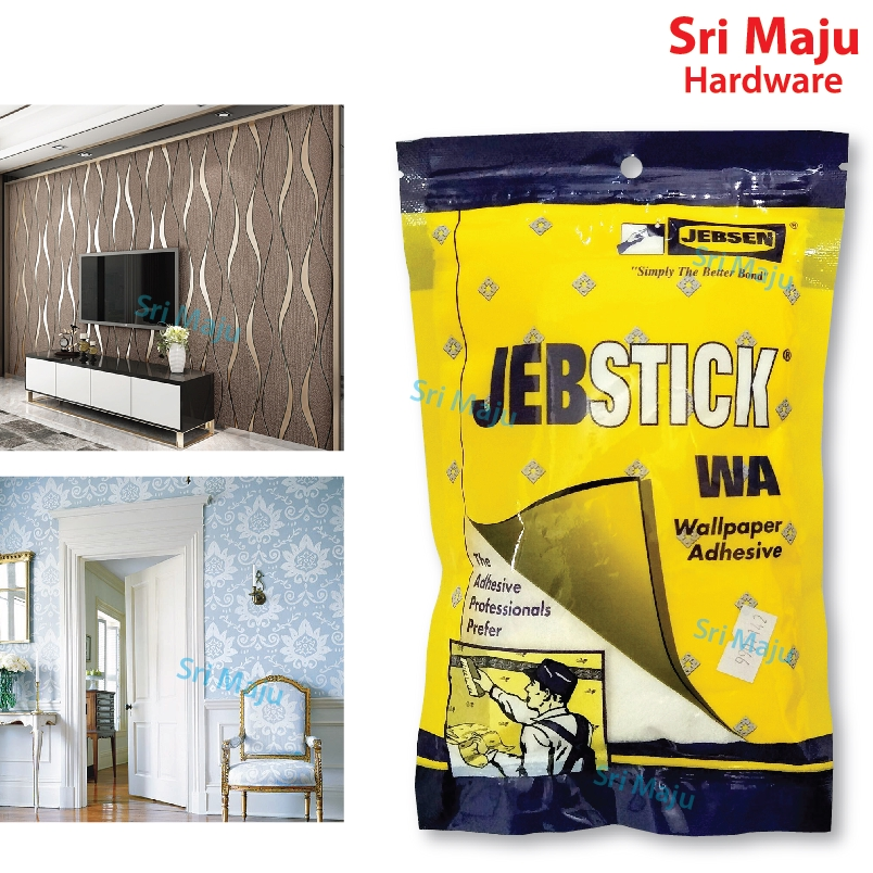 Maju Jebstick 125gm Wall Paper Adhesive For Lining Paper Roll Glue
