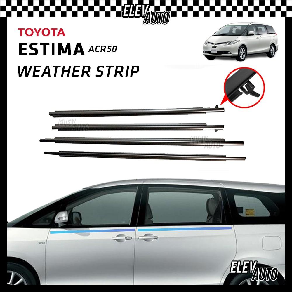 Weather Strip Weatherstrip Window Rubber Belt Toyota Estima ACR50 2006-2019