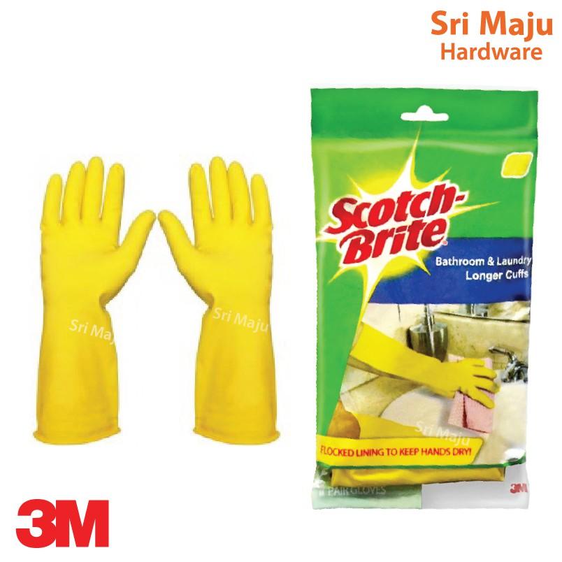 MAJU 3M Scotch Brite Multi Purpose Hand Glove Sarung Tangan