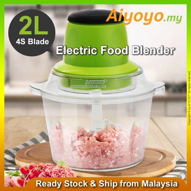 2L Electric Meat Grinder Meat Mixer Blender Meat Grinder Cooking Machine