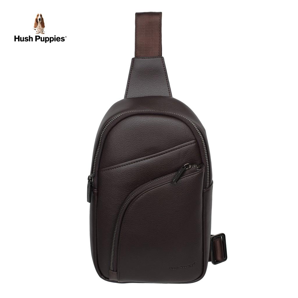 1cb0d2721 Hush Puppies Men's Arrow Chest Bag - Dark Brown | Shopee Malaysia