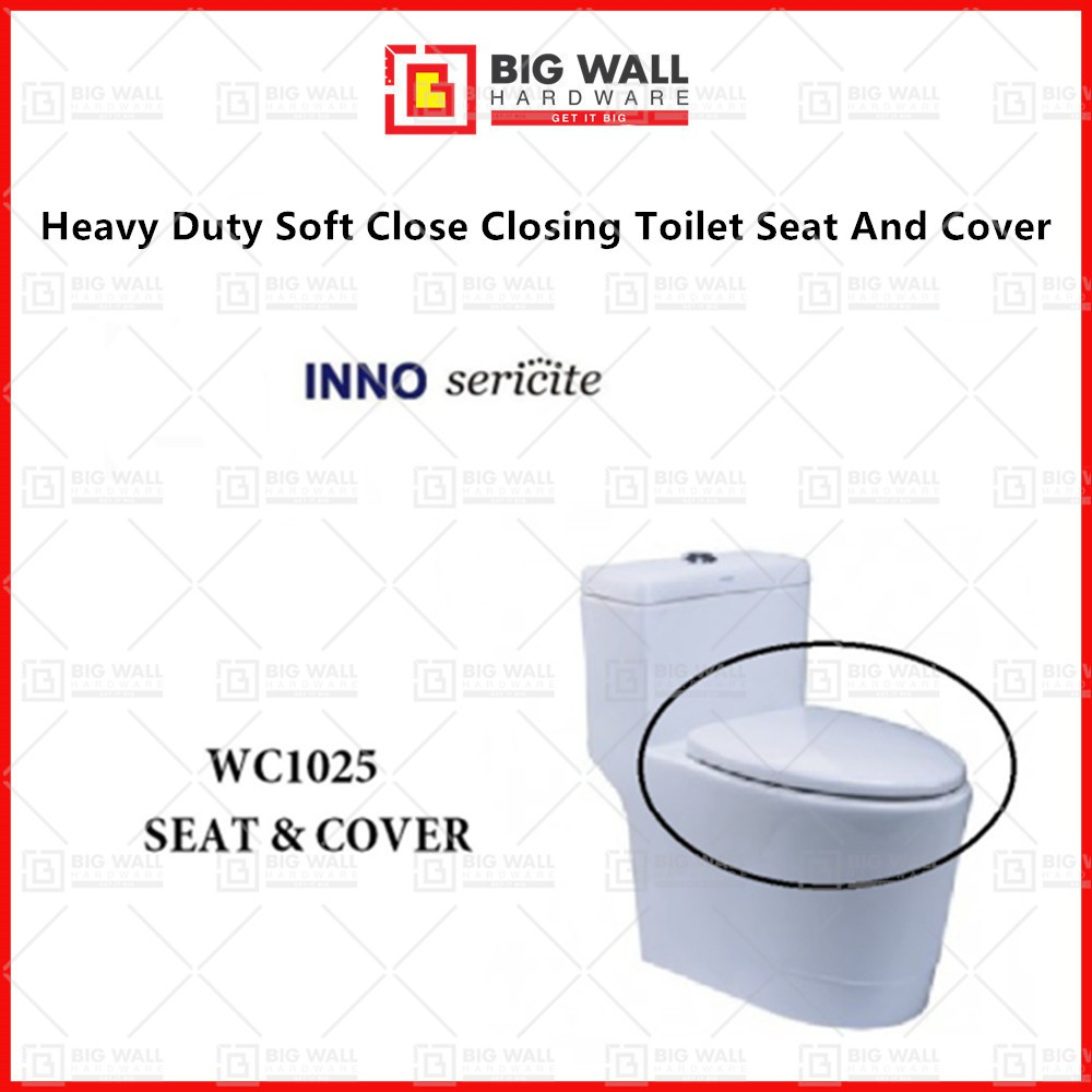 Inno Sericite Heavy Duty Soft Close Closing Toilet Seat And Cover For Sericite Original Seat Cover WC1023