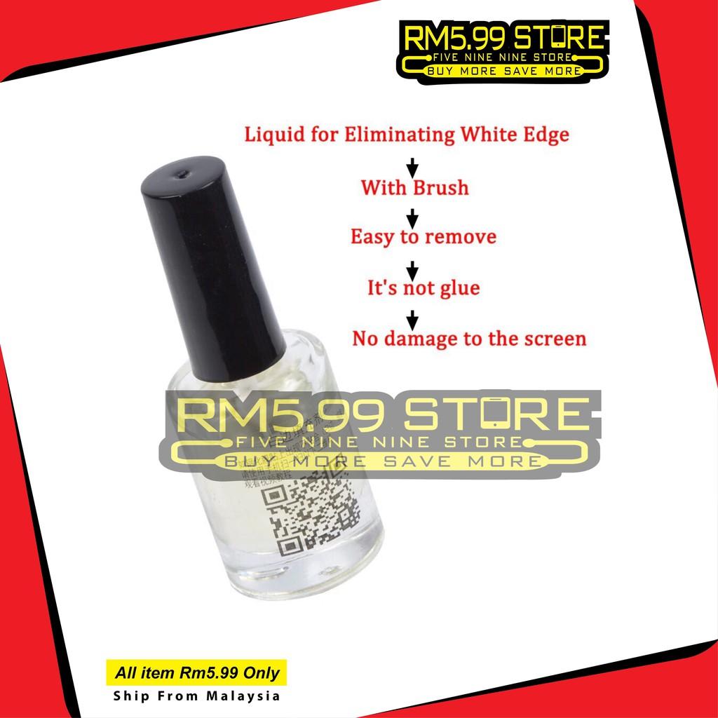 White Edge liquid Tempered Glass Screen protector oil White Edge Remover