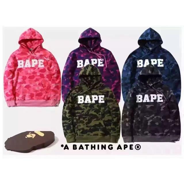 Bape shark face hoodie sweater jacket  927ffd65aacb