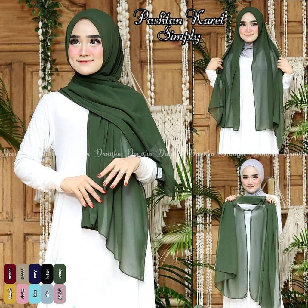 Women S Simple Hijab Shopee Malaysia