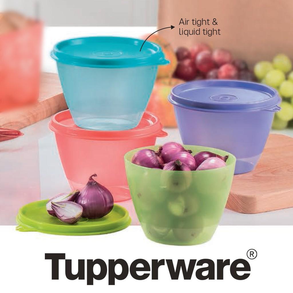 TUPPERWARE CHILL CUP/REFRIGERATOR  STORER (4) 380ML