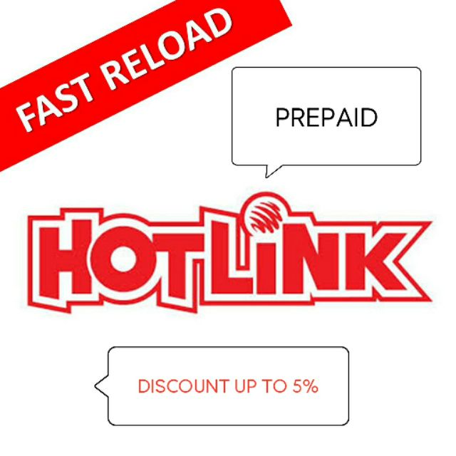HOTLINK / MAXIS DIRECT TOP UP RELOAD RM5 , 10 , 20