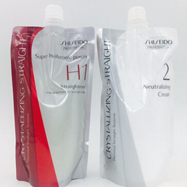 (Original)Shiseido Crystalizing Straight H & N Straightening(400gmx2)