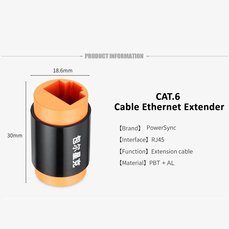 Powersync CAT.6 Cable Ethernet Extender