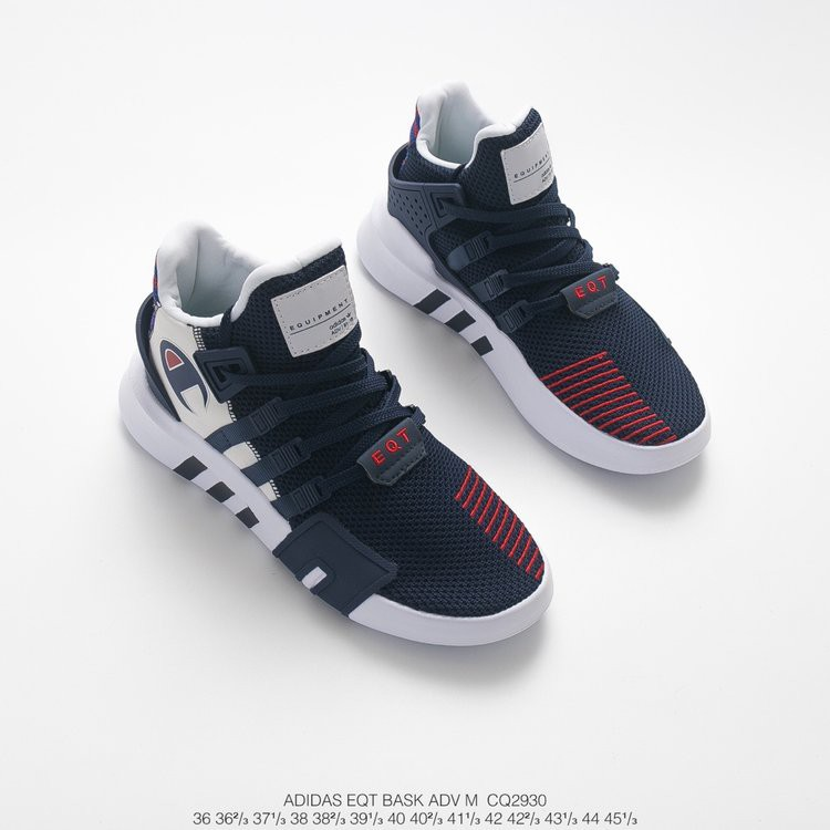 Escuela de posgrado Ordinario de ahora en adelante  Adidas EQT Bask ADV x champion dark blue men's women's running shoes blue  36-45 | Shopee Malaysia