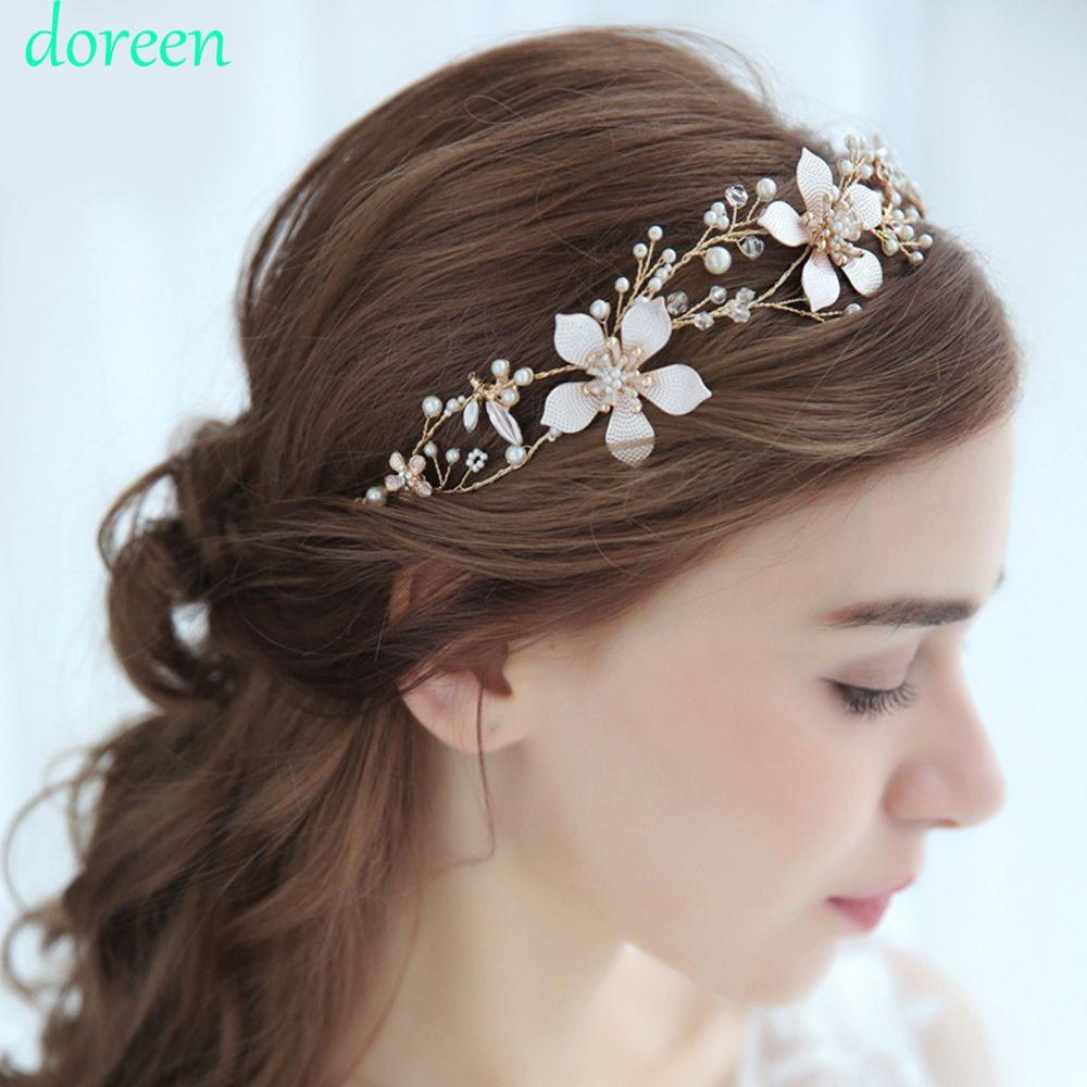 bride wedding crystals bridal hair accessories headband