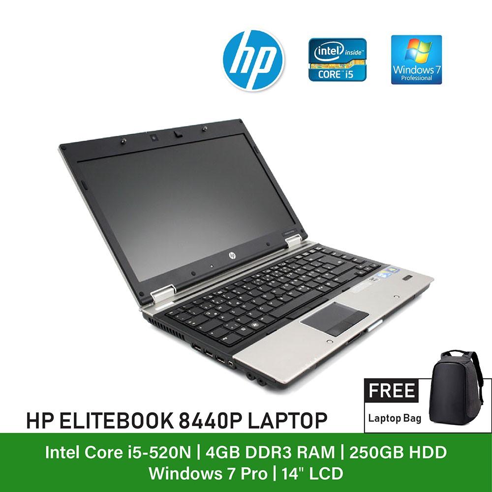 (Refurbished Notebook) HP Elitebook 8440p Laptop / Intel Core i5