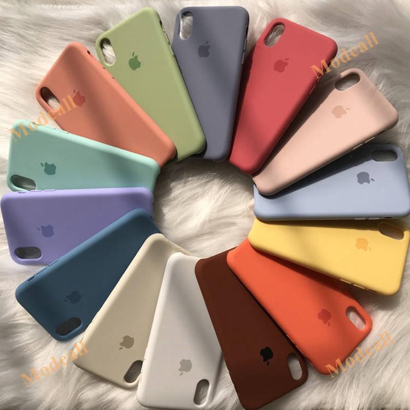 เคสซิลิโคน สำหรับ iphone case 6 6s 6p 6sp 7 7p 8 8p x xr xs max *ระบุสีในช่องหมาย
