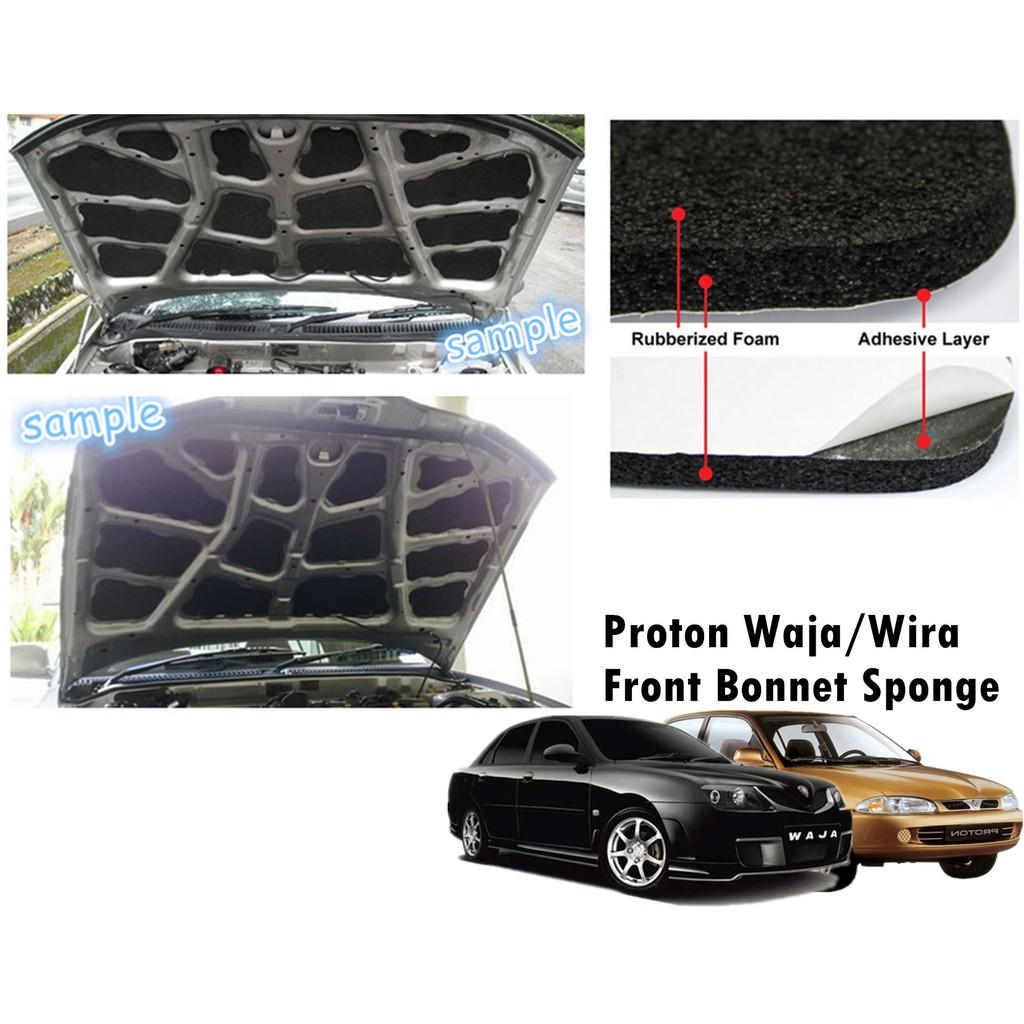 Front Bonnet Sponge/Bonnet Sound Proof -Proton Wira/Waja