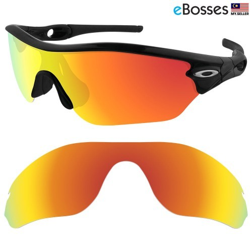 974338f9cf8 eBosses Polarized Replacement Lenses for Oakley RadarLock Edge Sunglasses