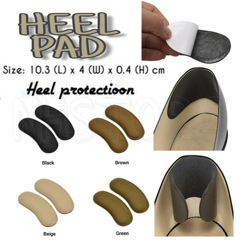 Heel Insole Protection Pad Gel Heel Cushion Soft Sponge 1 Pair / Gel Tumit Kasut Heel Lelaki Perempuan