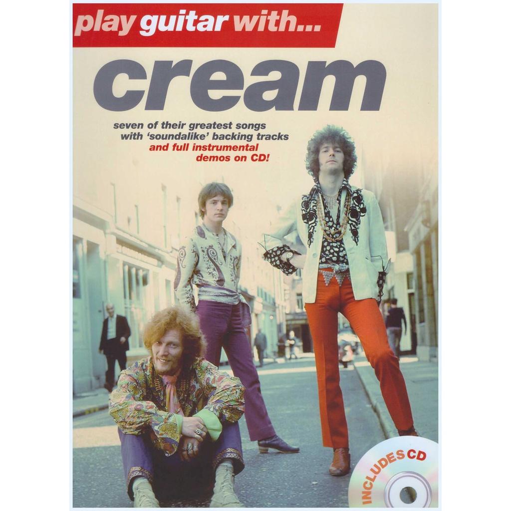 Play Guitar With... Cream / Vocal Book / Voice Book / Guitar Book