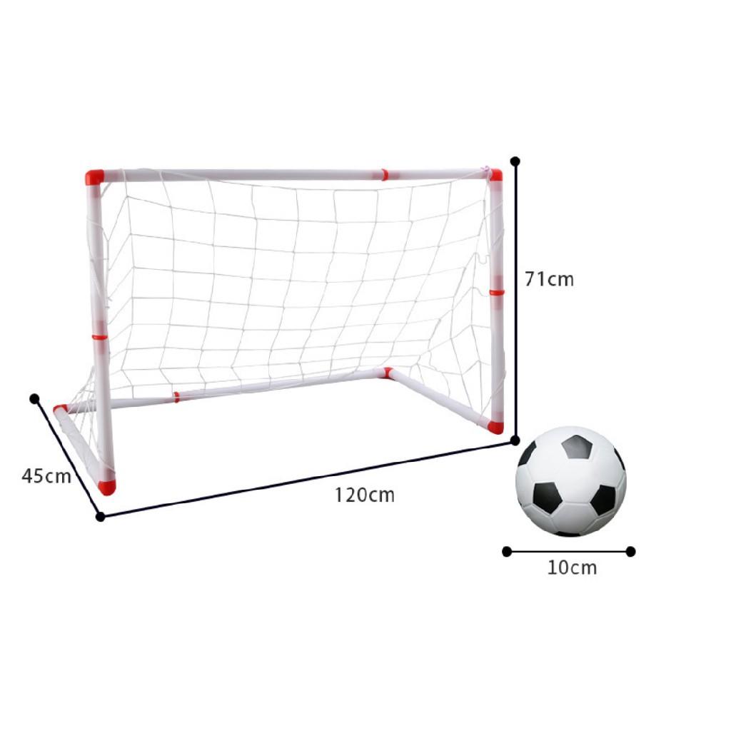 Hot Item Big Size Kid S Mini Soccer Goal Post Net Futsal Football Toys Kids Adult Gawang Bola Tiang Gol Futsal Shopee Malaysia