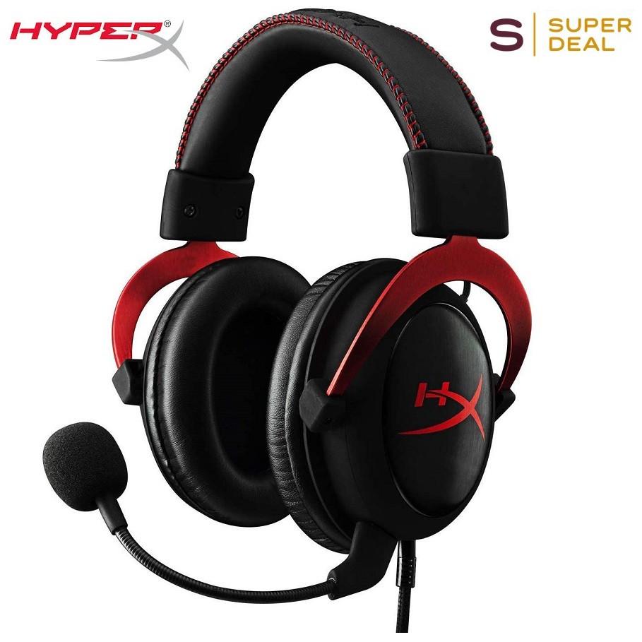 HyperX Cloud II black red (KHX-HSCP-RD)  Gaming Headset