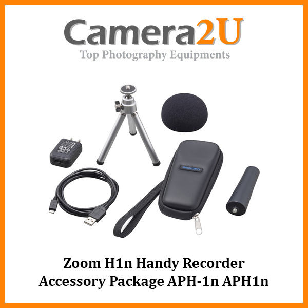 READY STOCK Zoom H1n Handy Recorder Accessory Package APH-1n APH1n