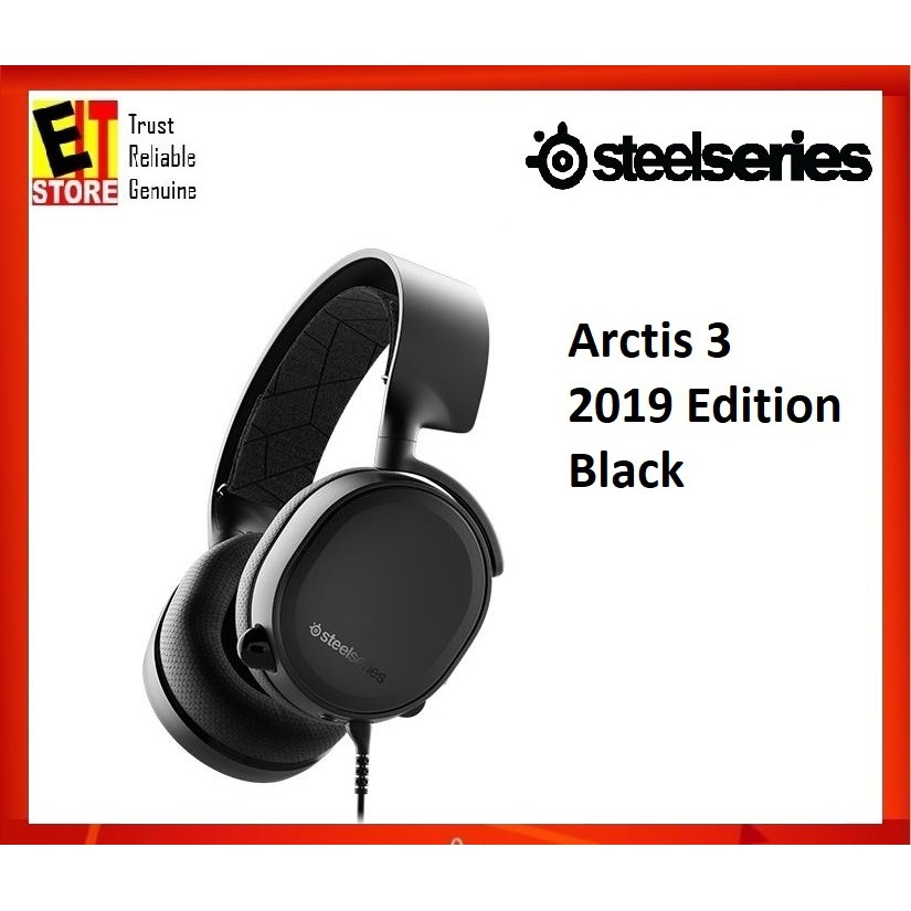 STEELSERIES ARCTIS 3 2019 EDITION HEADSET 61503 (BLACK)