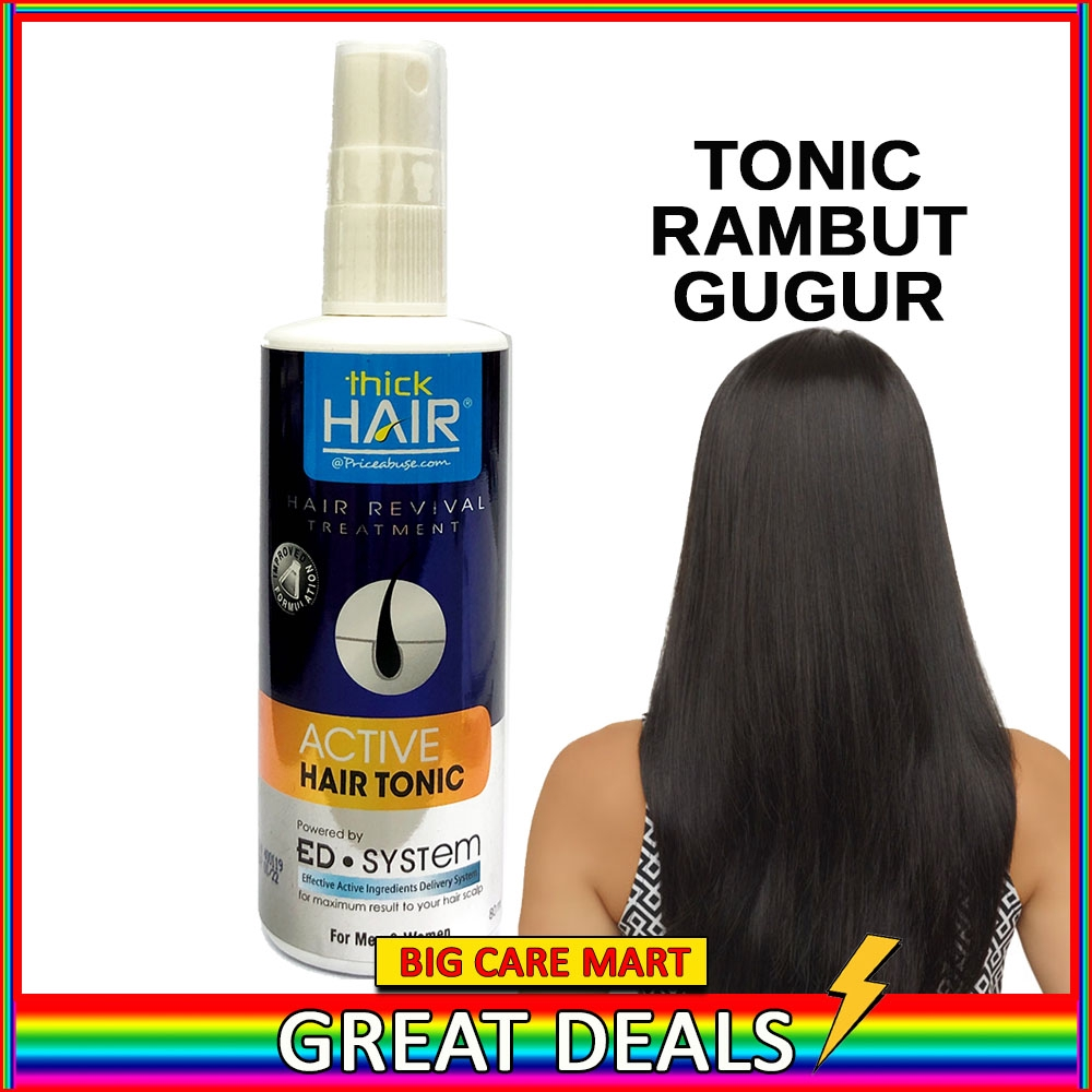 Thick Hair Revival Treatment Active Hair Growth Tonic 80ml