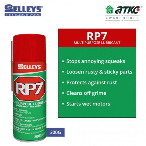 Selleys RP7 High Oil Content Multipurpose Lubricant 300G (TRSLU003)