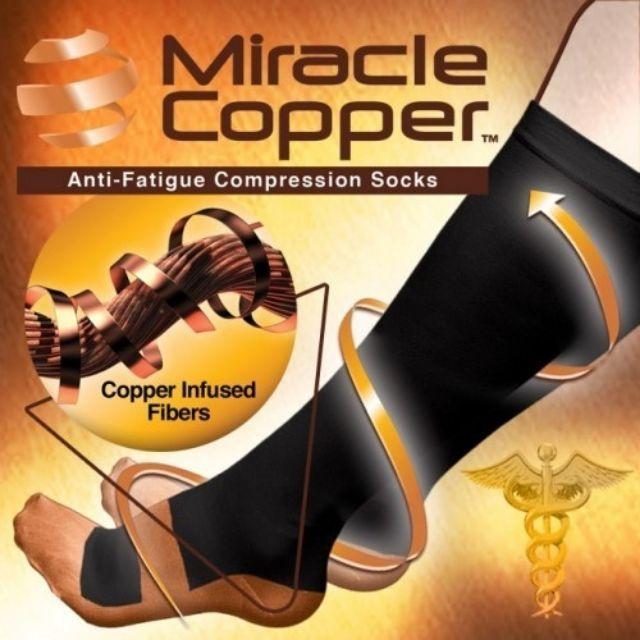 e067dde70d Miracle Copper Socks Anti-fatigue compression sock | Shopee Malaysia
