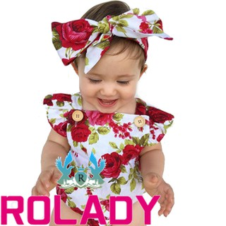 e75f0198795f Newborn Infant Baby Girl Floral Bodysuit Romper Jumpsuit Clothes Outfits  Sunsuit