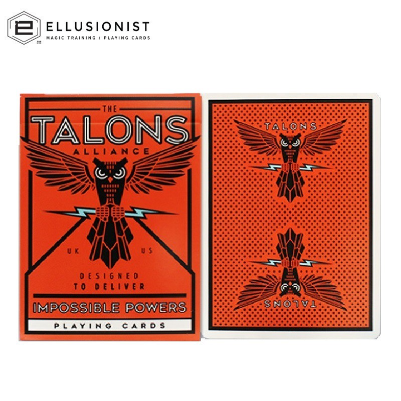 THE TALONS ALLIANCE ELLUSIONIST PLAYING CARDS DECK BICYCLE MAGIC TRICKS NEW