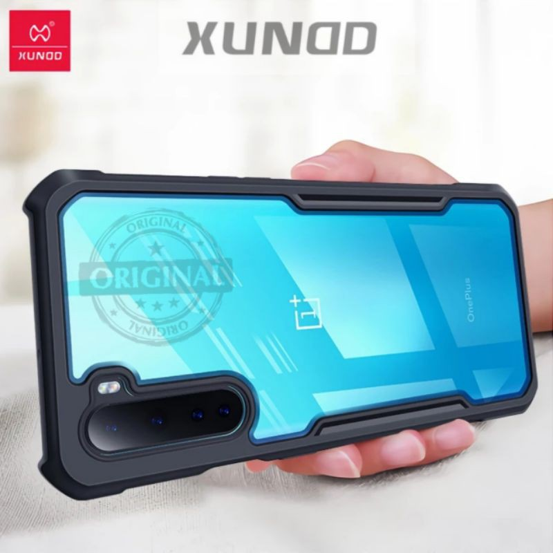 Xundd Case For Oneplus Nord Phone Case Shockproof Transparent Cover Protective Case (Ready Stock)