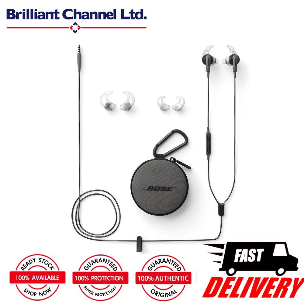Bose Soundsport Free Wireless Headphones Shopee Malaysia Earphone Navy