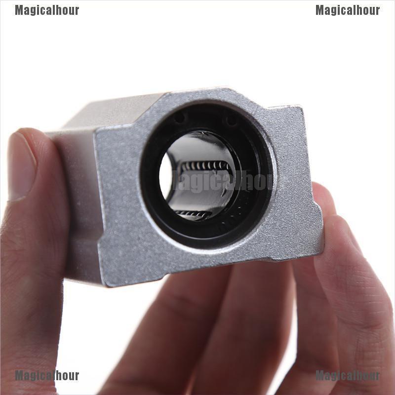 Magicalhour SC8UU SCS20UU 8 20mm Linear Motion Ball Bearing Machinery Slide Bushing MA