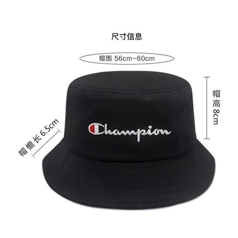 ae8d68ce42837b Ready Stock Fashion Champion Unisex Breathable Cotton Bucket Hat Sun Cap