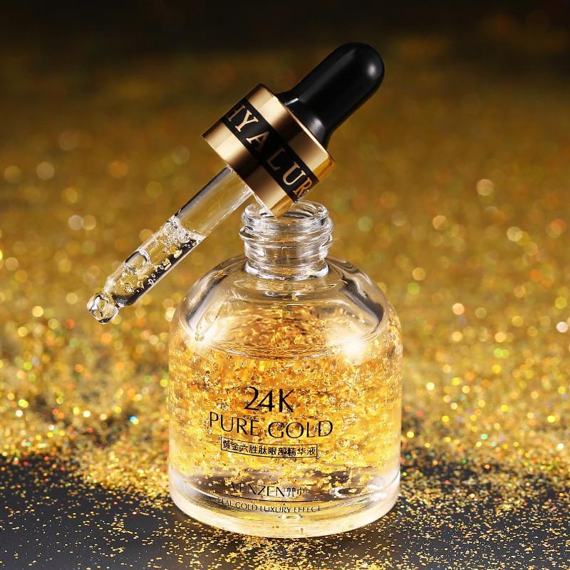 24K Gold Day Cream Face Skin Care Hydrating Essence Serum